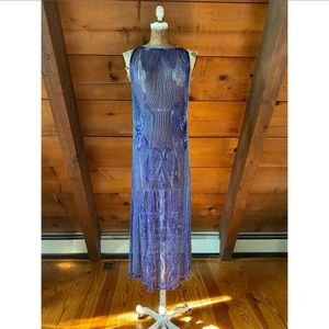 1920s style beaded deco flapper dress